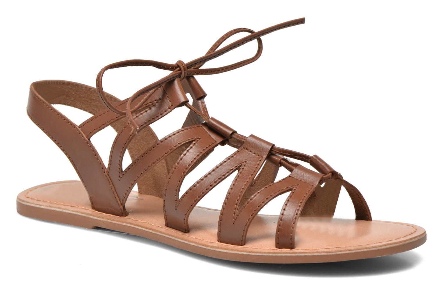 Sandalen I Love Shoes SUGLI Leather braun detaillierte ansicht/modell