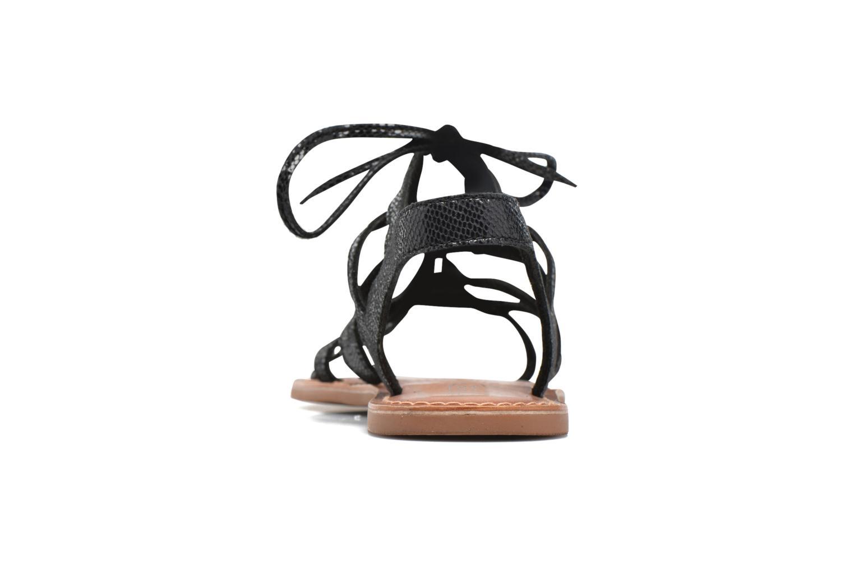 Sandalias I Love Shoes SUGLI Leather Negro vista lateral derecha