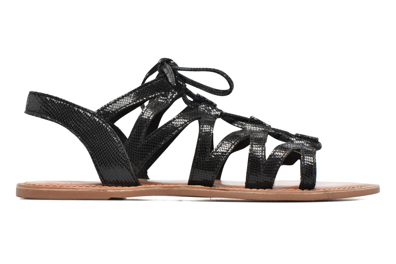 Sandals I Love Shoes SUGLI Leather Black back view