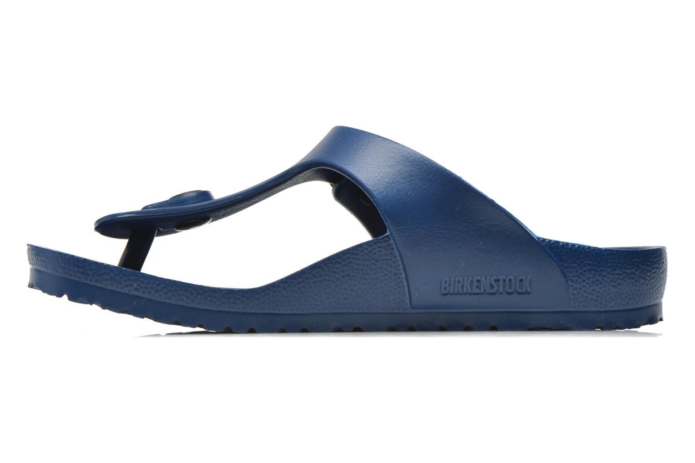 Sandales et nu-pieds Birkenstock Gizeh EVA Bleu vue face