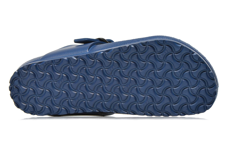 Sandales et nu-pieds Birkenstock Gizeh EVA Bleu vue haut