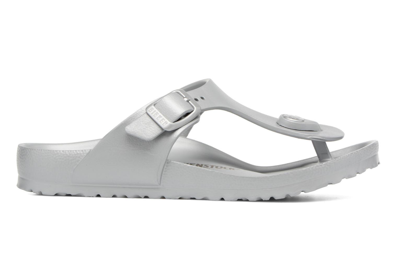 Sandales et nu-pieds Birkenstock Gizeh EVA Argent vue derrière