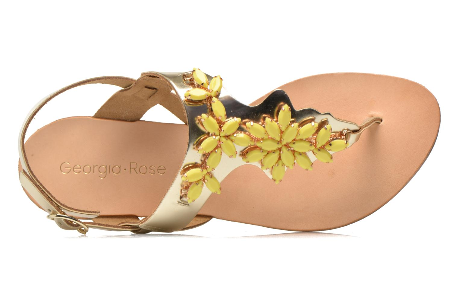 Sandalen Georgia Rose Dollie gold/bronze ansicht von links