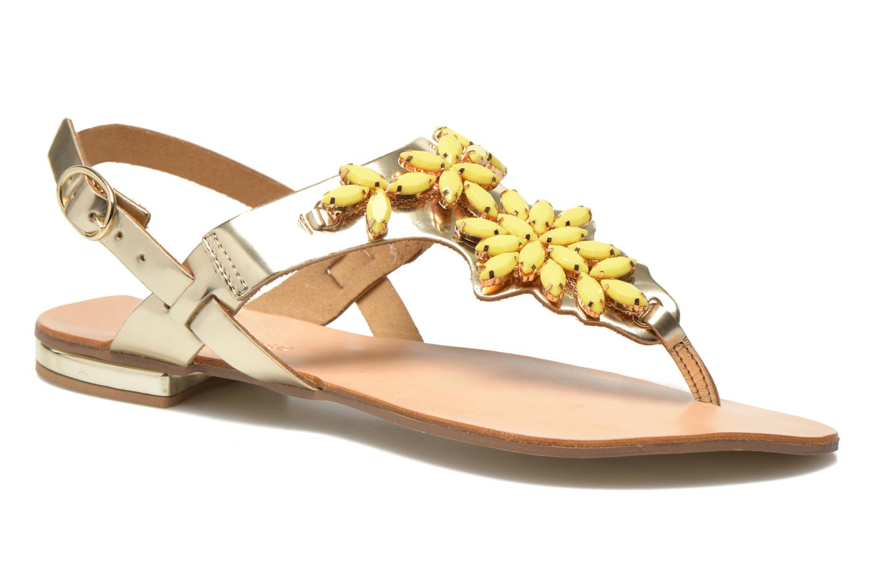 Sandalias Georgia Rose Dollie Oro y bronce vista de detalle / par
