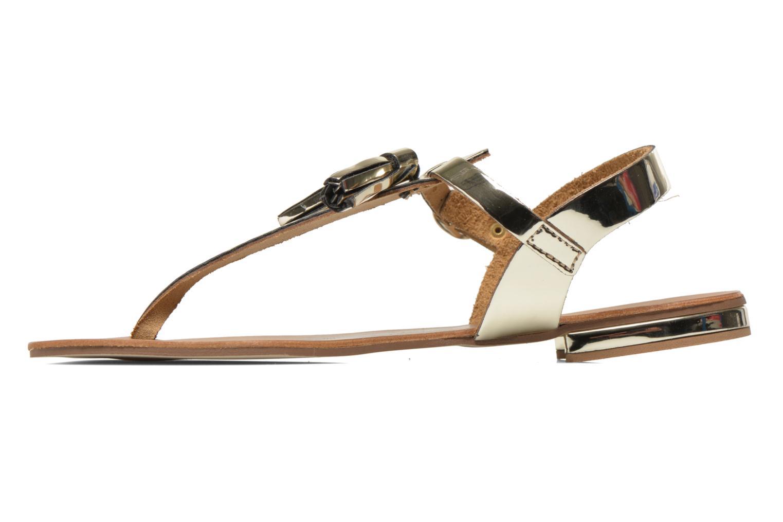 Sandales et nu-pieds Georgia Rose Dormine Or et bronze vue face