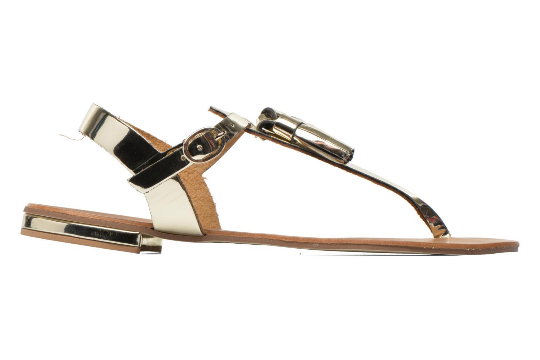 Sandales et nu-pieds Georgia Rose Dormine Or et bronze vue derrière