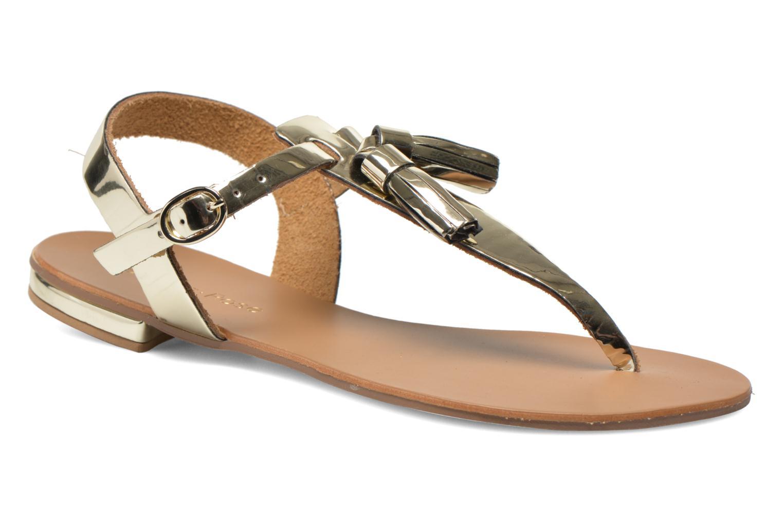Sandales et nu-pieds Georgia Rose Dormine Or et bronze vue détail/paire