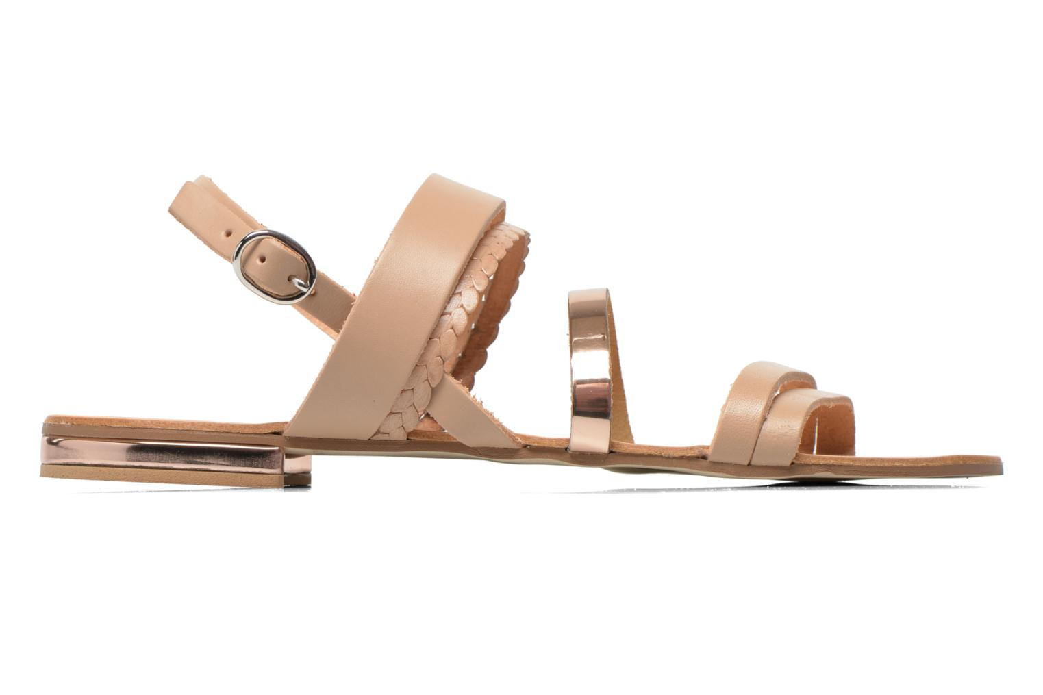 Sandals Georgia Rose Doloress Beige back view
