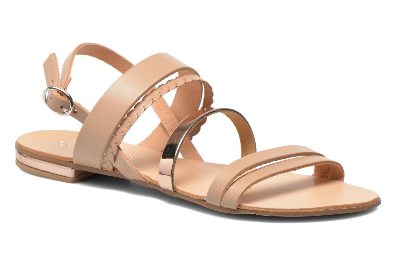 Sandales et nu-pieds Georgia Rose Doloress Beige vue détail/paire