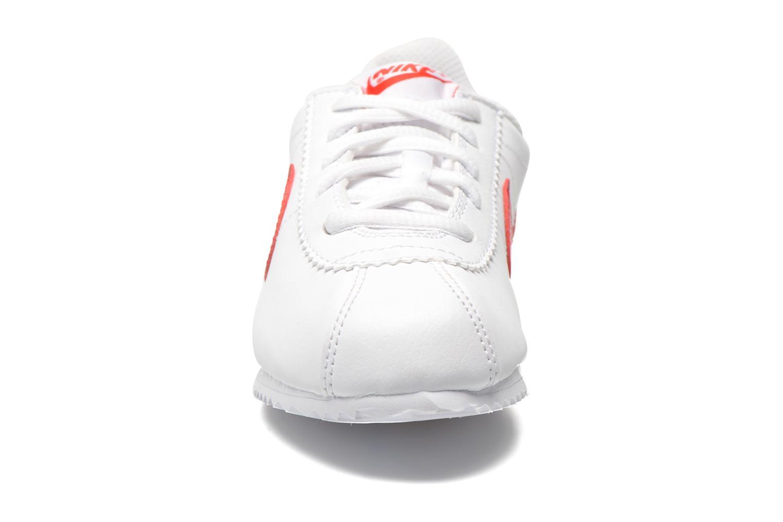 Deportivas Nike Nike Cortez (Ps) Blanco vista del modelo