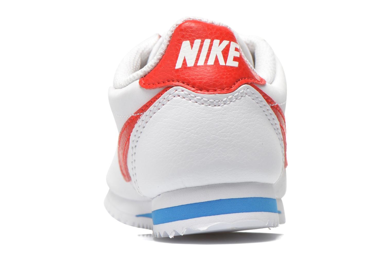 Deportivas Nike Nike Cortez (Ps) Blanco vista lateral derecha