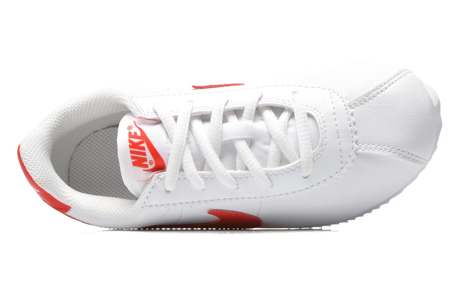 Trainers Nike Nike Cortez (Ps) White view from the left