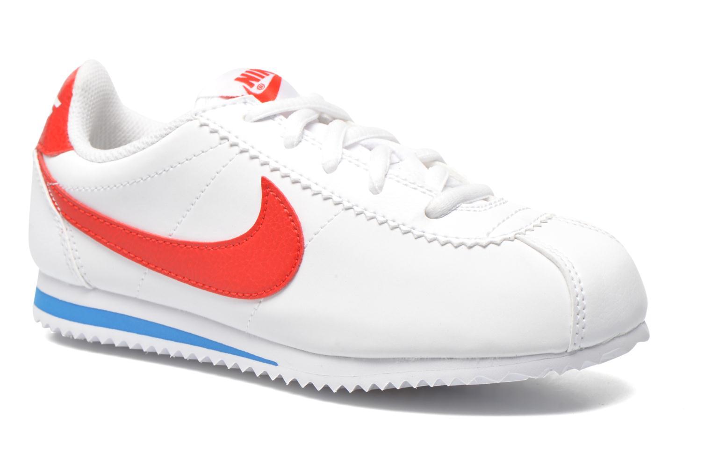 Deportivas Nike Nike Cortez (Ps) Blanco vista de detalle / par