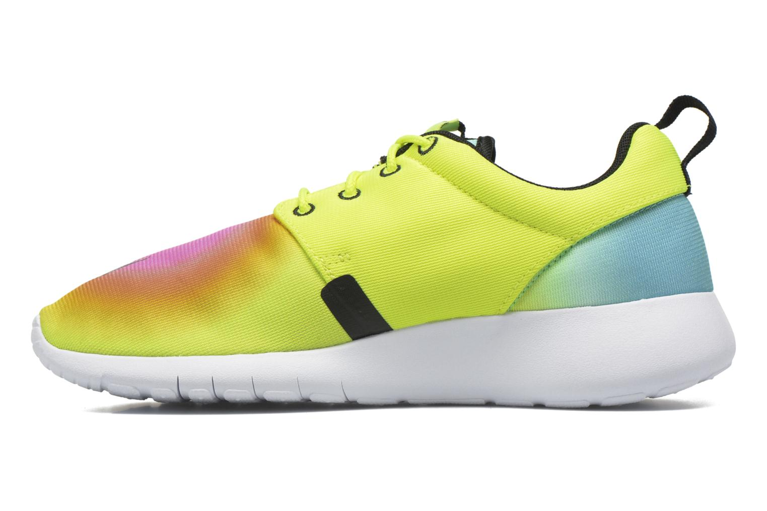 Baskets Nike Nike Roshe One Fb (Gs) Jaune vue face