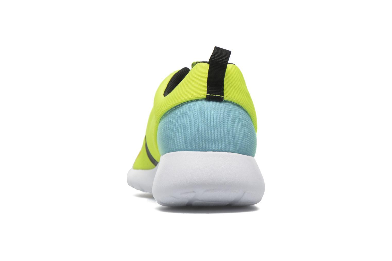 Baskets Nike Nike Roshe One Fb (Gs) Jaune vue droite