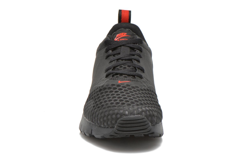 Nike Air Max Tavas (Gs) Black Black-Challenge Red