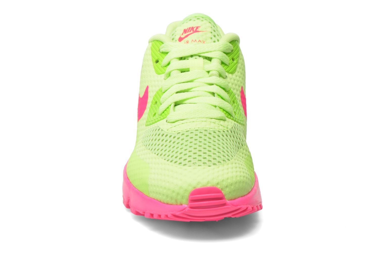 Baskets Nike Nike Air Max 90 Br (Gs) Vert vue portées chaussures