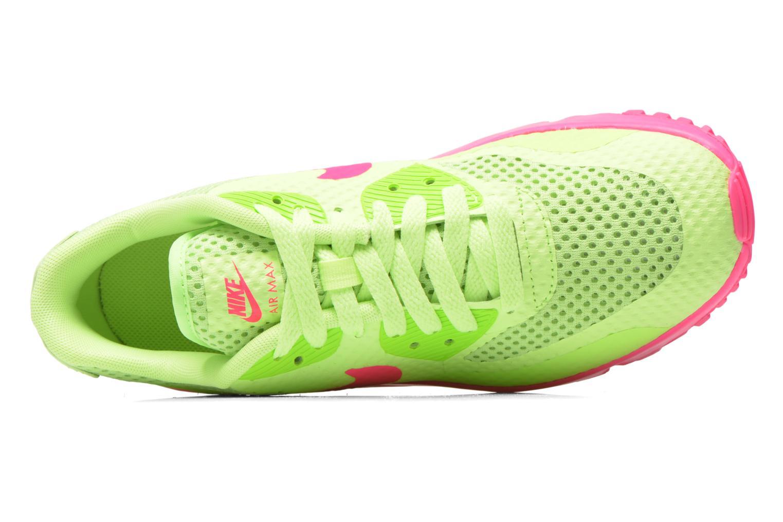 Sneaker Nike Nike Air Max 90 Br (Gs) grün ansicht von links