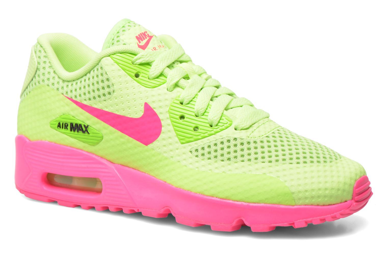 Baskets Nike Nike Air Max 90 Br (Gs) Vert vue détail/paire