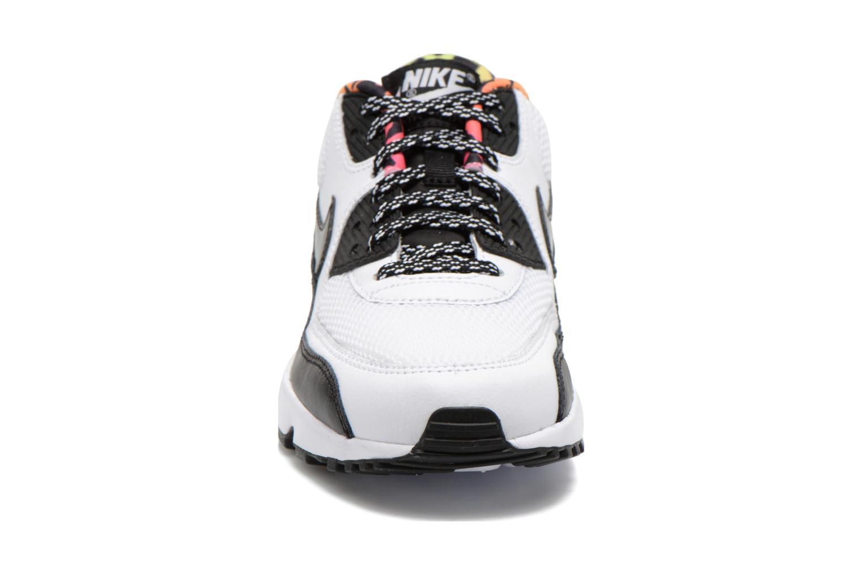 Sneaker Nike Nike Air Max 90 Fb (Gs) weiß schuhe getragen