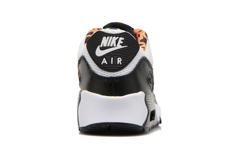Baskets Nike Nike Air Max 90 Fb (Gs) Blanc vue droite
