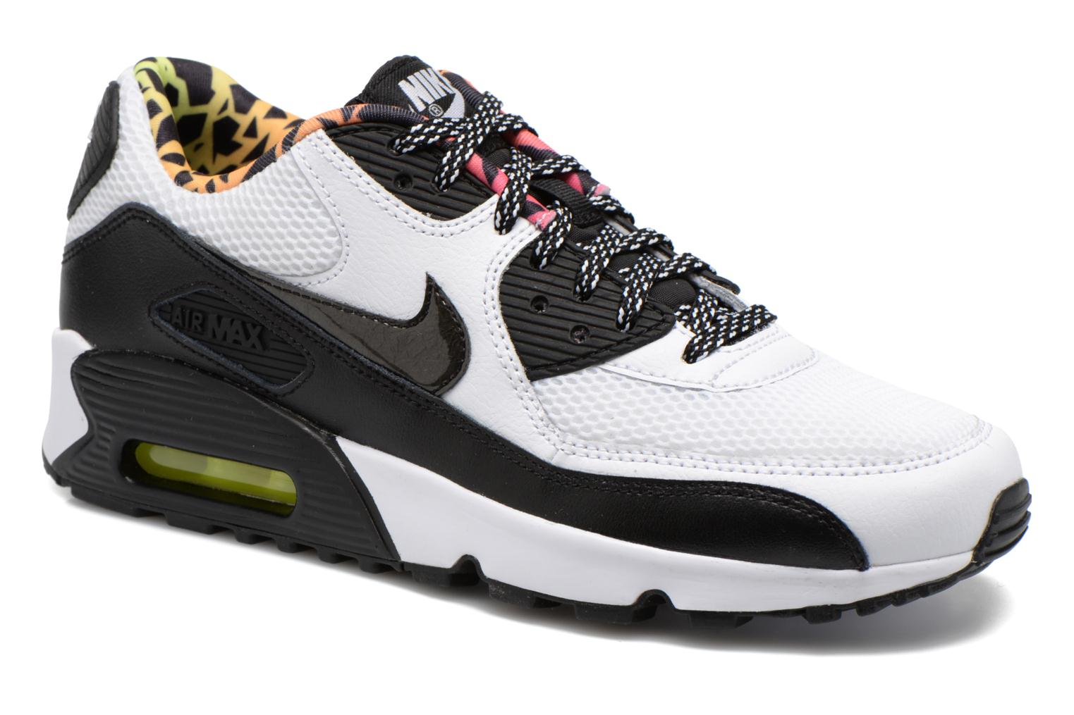 Trainers Nike Nike Air Max 90 Fb (Gs) White detailed view/ Pair view