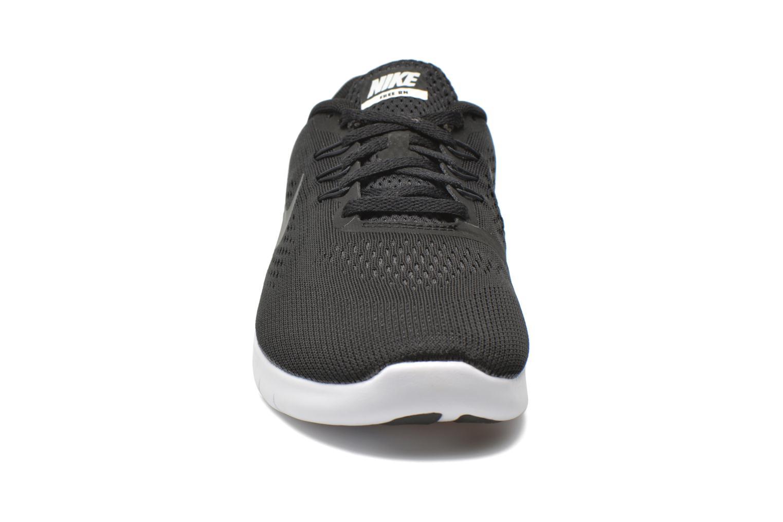Sneaker Nike Nike Free Rn (Gs) schwarz schuhe getragen