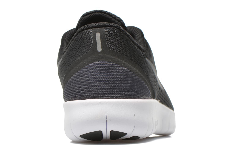 Sneaker Nike Nike Free Rn (Gs) schwarz ansicht von rechts