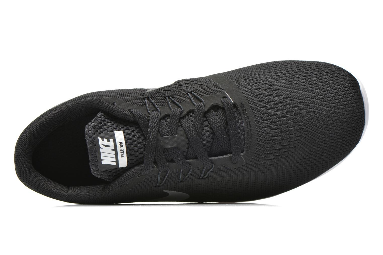 Sneaker Nike Nike Free Rn (Gs) schwarz ansicht von links