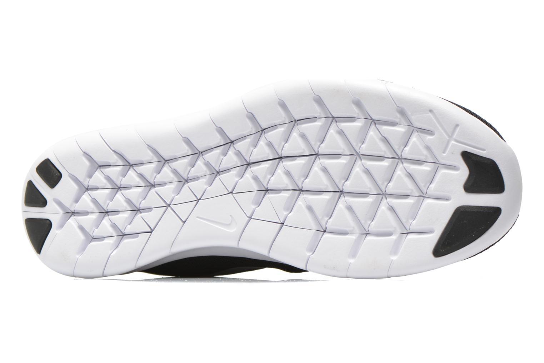 Sneaker Nike Nike Free Rn (Gs) schwarz ansicht von oben