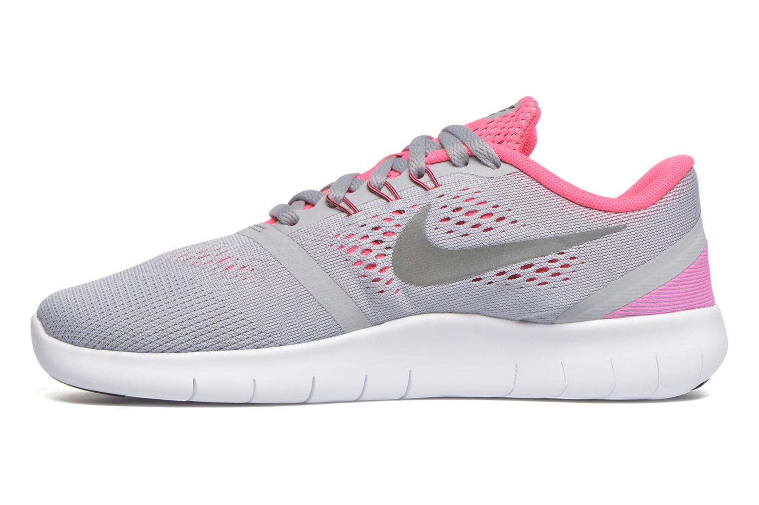 Baskets Nike Nike Free Rn (Gs) Gris vue face