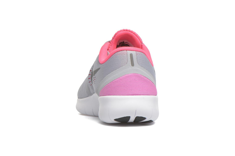 Sneaker Nike Nike Free Rn (Gs) grau ansicht von rechts