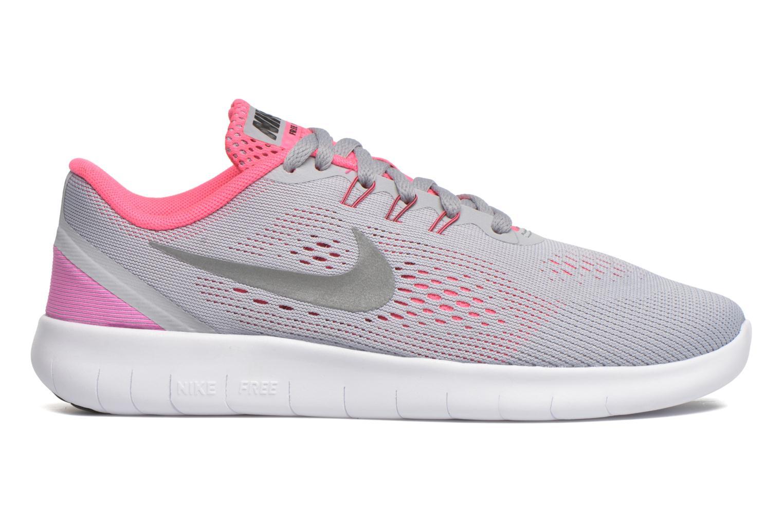 Nike Free Rn (Gs) Wolf Grey/Metallic Silver-White-Black