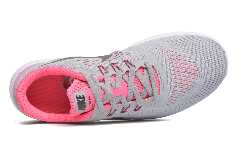 Sneaker Nike Nike Free Rn (Gs) grau ansicht von links