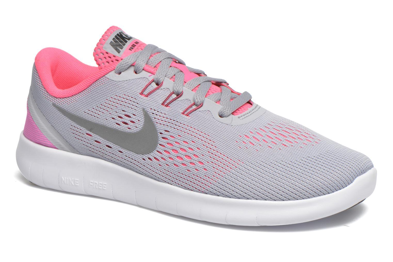 Sneaker Nike Nike Free Rn (Gs) grau detaillierte ansicht/modell