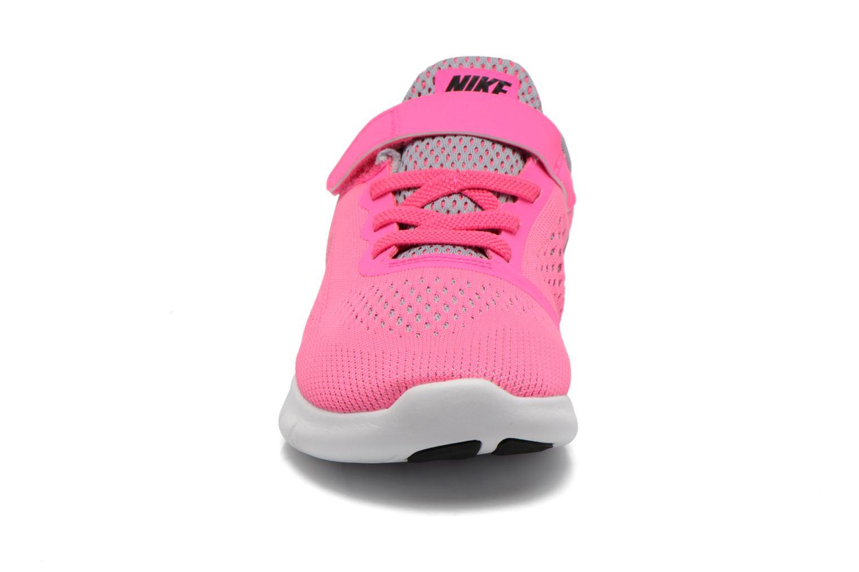 Sneakers Nike Nike Free Rn (Psv) Rosa modello indossato