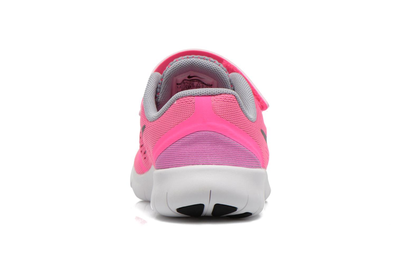 Deportivas Nike Nike Free Rn (Psv) Rosa vista lateral derecha