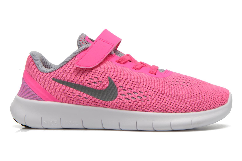 Sneaker Nike Nike Free Rn (Psv) rosa ansicht von hinten