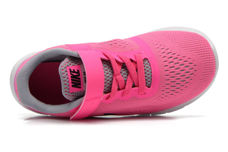 Deportivas Nike Nike Free Rn (Psv) Rosa vista lateral izquierda