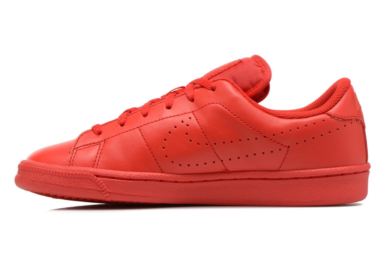 Deportivas Nike Tennis Classic Prm (Gs) Rojo vista de frente