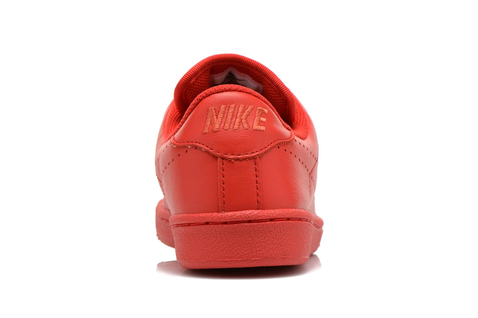 Trainers Nike Tennis Classic Prm (Gs) Red view from the right