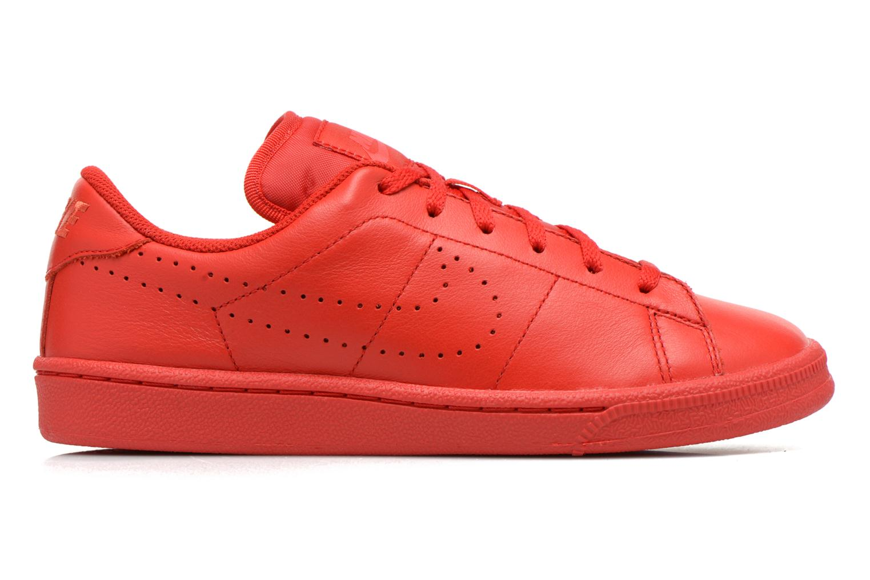 Deportivas Nike Tennis Classic Prm (Gs) Rojo vistra trasera