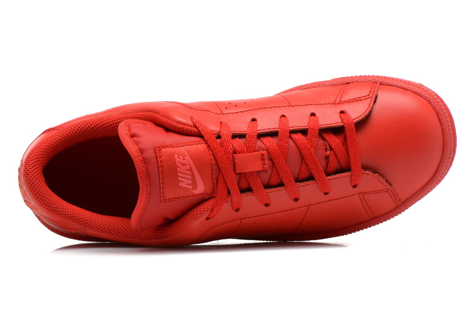 Trainers Nike Tennis Classic Prm (Gs) Red view from the left