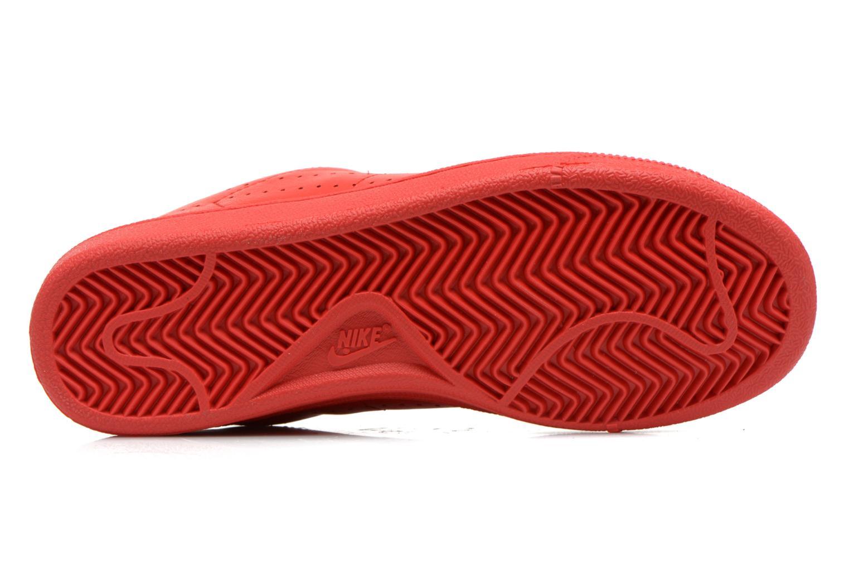 Deportivas Nike Tennis Classic Prm (Gs) Rojo vista de arriba