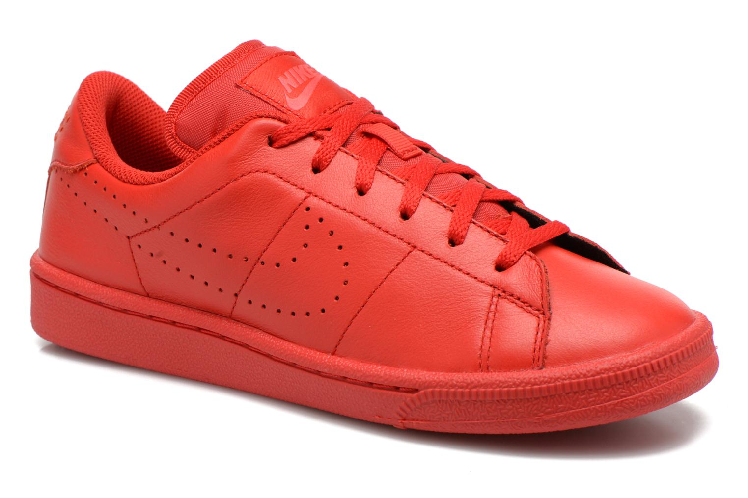 Trainers Nike Tennis Classic Prm (Gs) Red detailed view/ Pair view