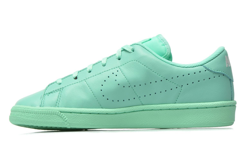 Sneaker Nike Tennis Classic Prm (Gs) grün ansicht von vorne