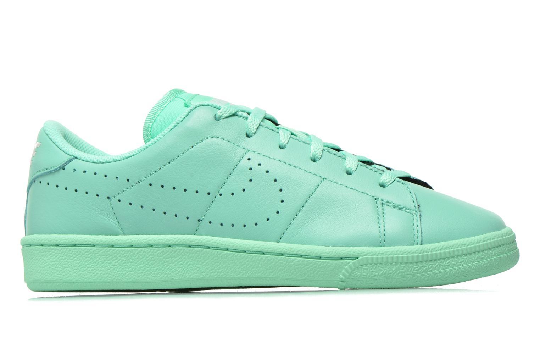 Sneaker Nike Tennis Classic Prm (Gs) grün ansicht von hinten
