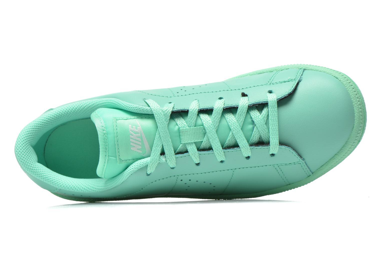 Sneaker Nike Tennis Classic Prm (Gs) grün ansicht von links