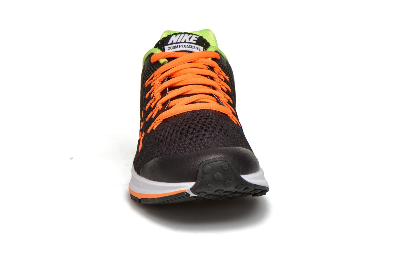Deportivas Nike Nike Zoom Pegasus 33 (Gs) Negro vista del modelo