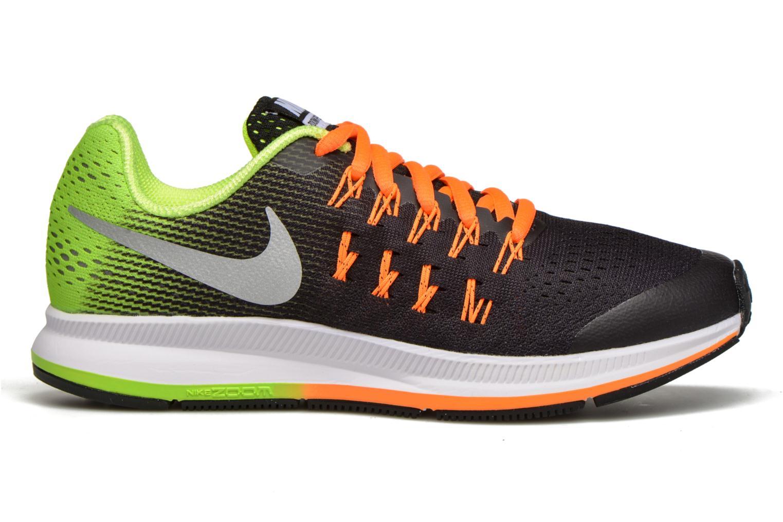 Deportivas Nike Nike Zoom Pegasus 33 (Gs) Negro vistra trasera